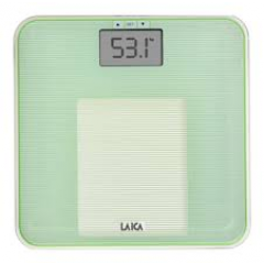 LAICA Personenwaage PS4010 Body Compostition Glas/ Green