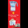Limited Box LAICA Wasserfilter Serie 3000 Steam Line J434HA3 Lavender/ Blue + Coffee & Tea Kartusche