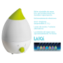 LAICA Baby Line Ultraschall Luftbefeuchter HI3012 Weiß / Lemon