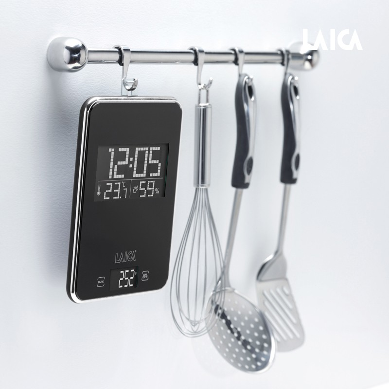 LAICA Küchenwaage Multifunktion KS3009 Black